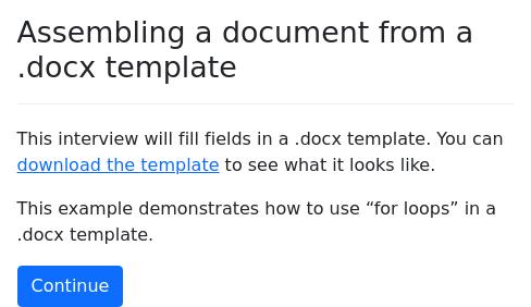 Assembling documents