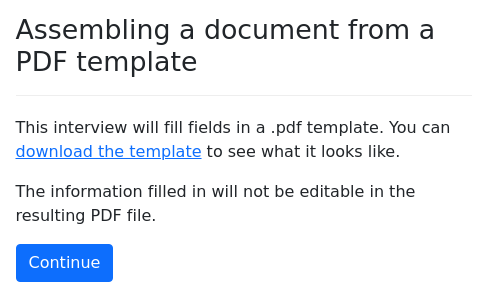 Assembling documents
